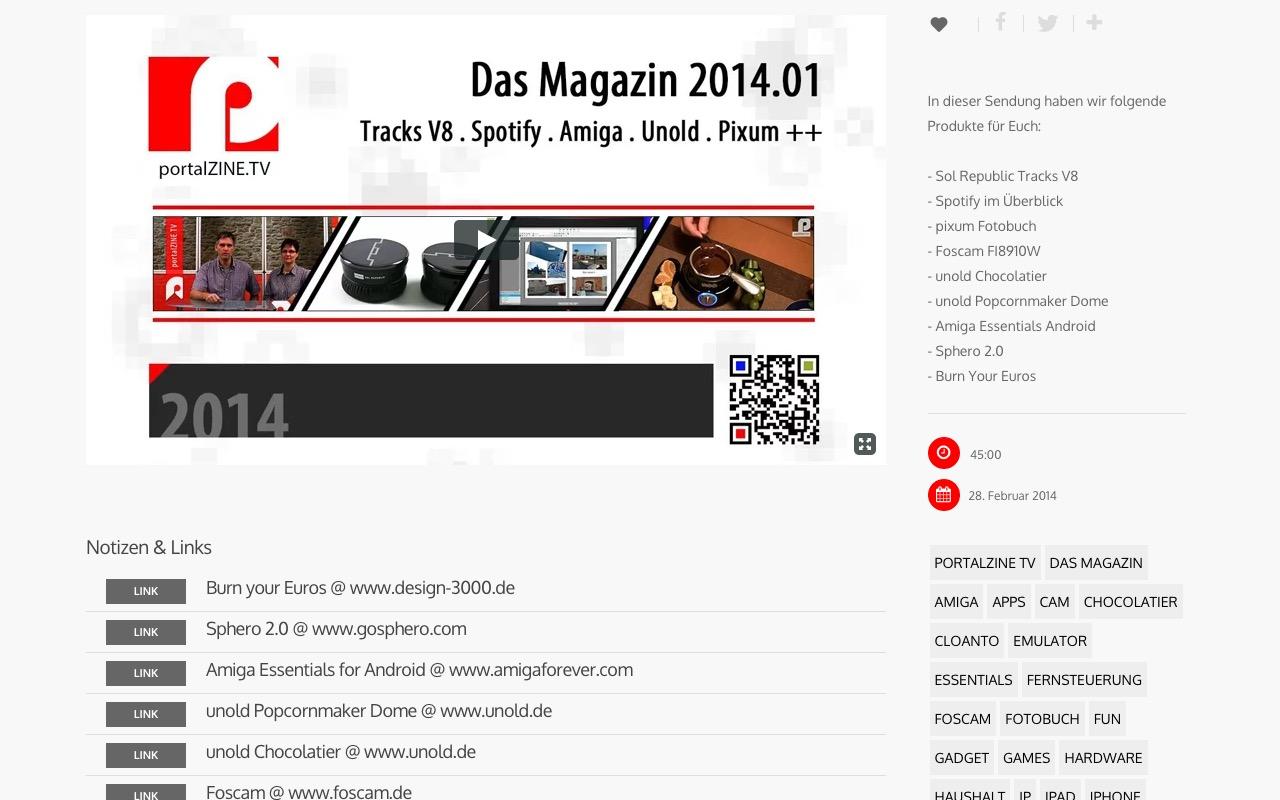 Das Magazin – portalZINE TV