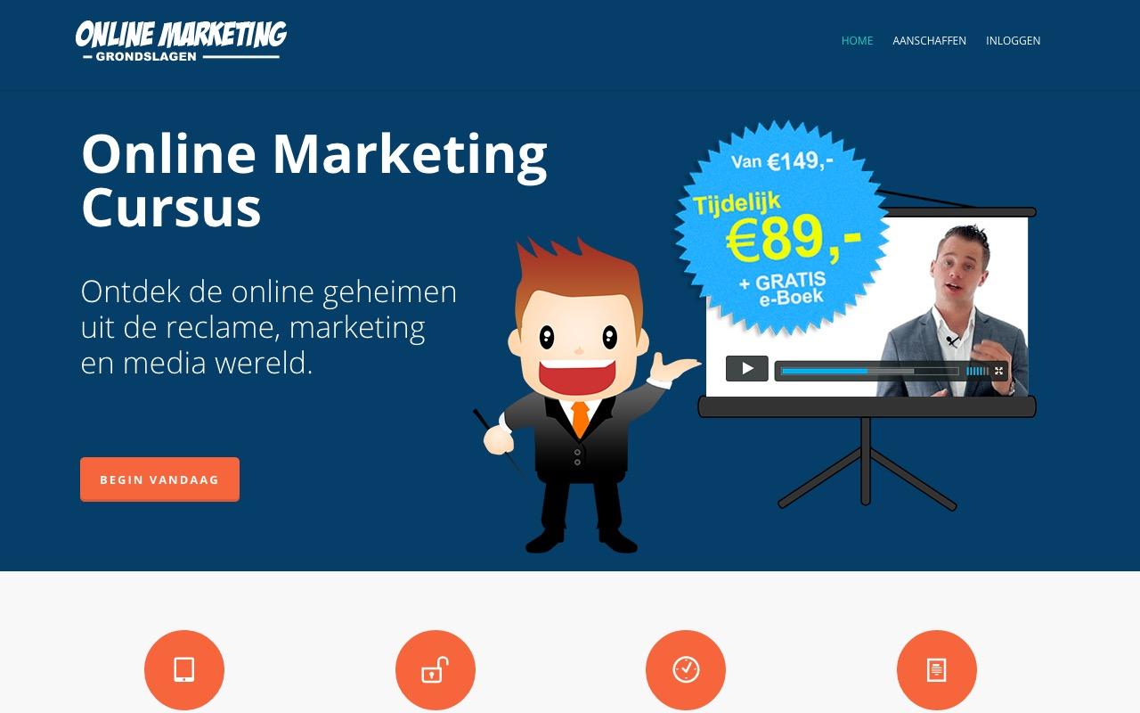 Online Marketing Cursus