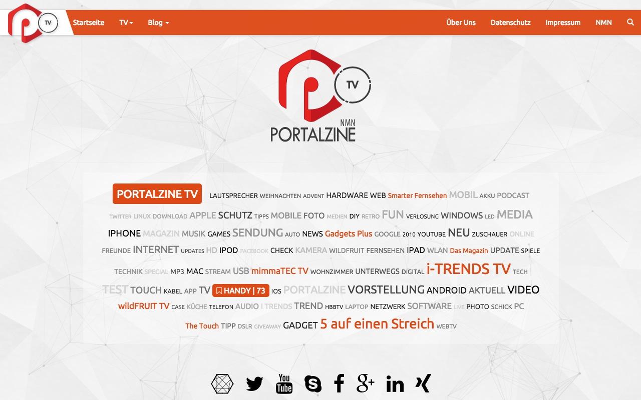 portalZINE.TV gets full upgrade