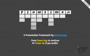 Flowtime.js – a Presentation Framework for the web