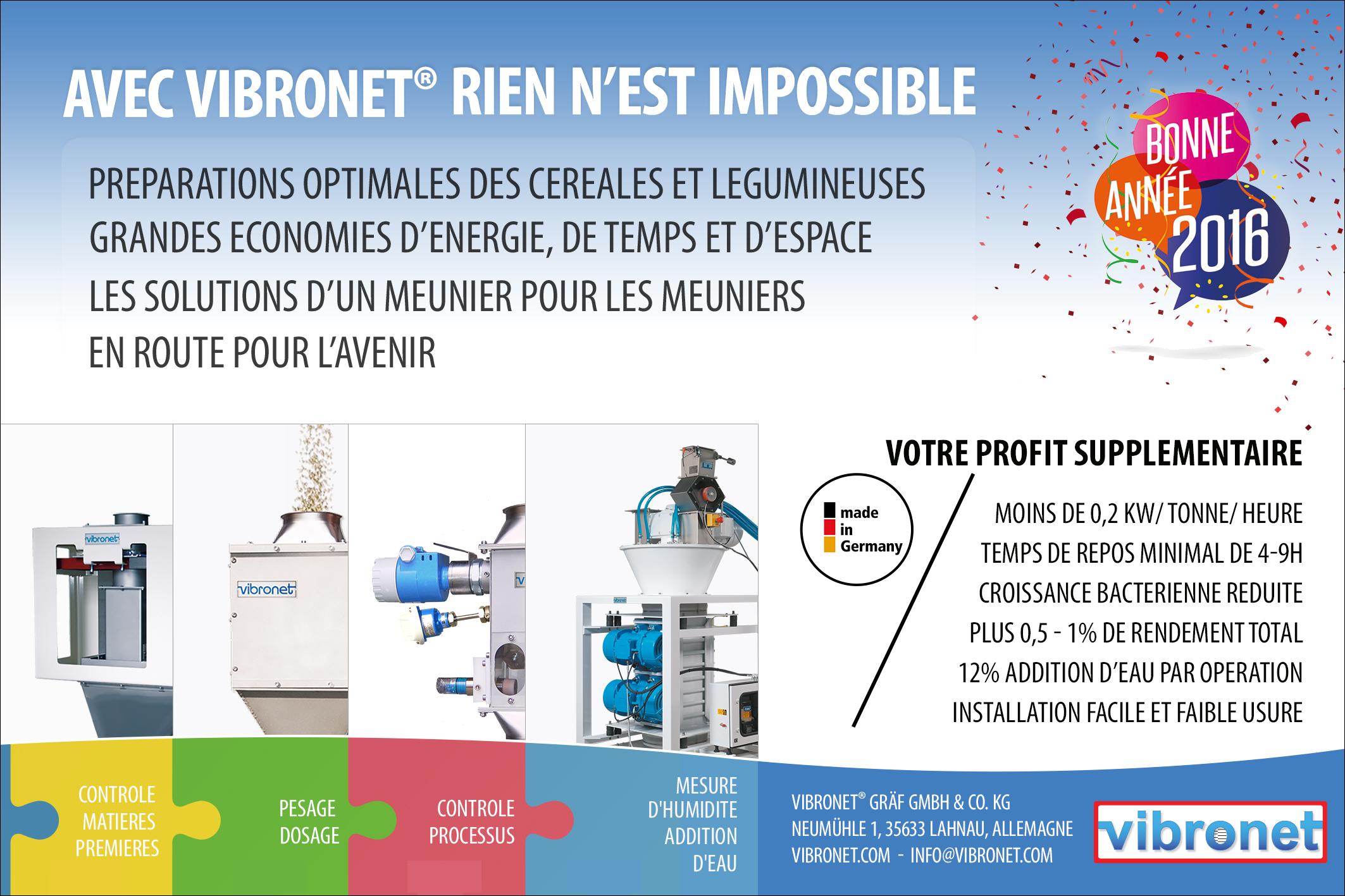 vibronet: Industries des Céréales No. 195 / 24.12.2015