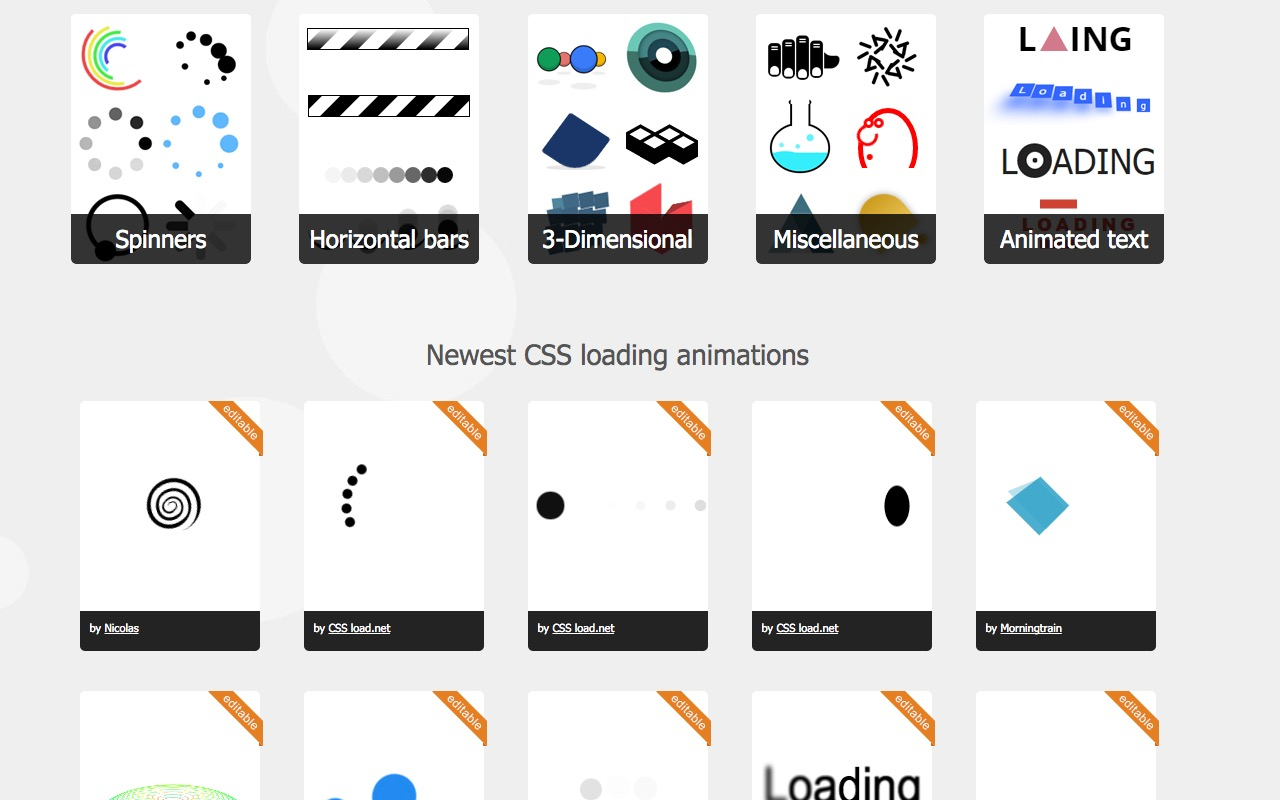 Get your load of CSS loaders