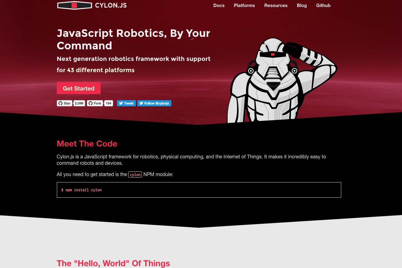 Cylon.js – make the Internet of Things obey your commands