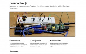 heimcontrol.js – home automation with Raspberry PI and Arduino using Node.js, MongoDB, HTML5 and Websockets