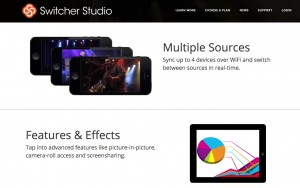 Switcher Studio – mobile streaming production suite