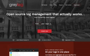 All your logs in one place with graylog