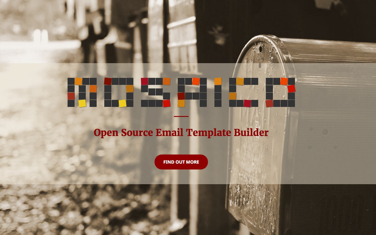 Open Source Email Template Builder Mosaico - Open source email templates