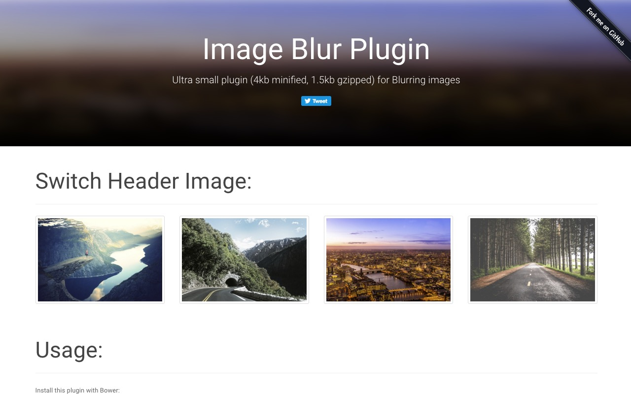 Crossbrowser jQuery plugin for blurring images