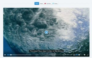 Plyr.io – A simple, accessible and customizable HTML5, YouTube and Vimeo media player