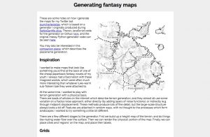 Generating fantasy maps with Javascript :)
