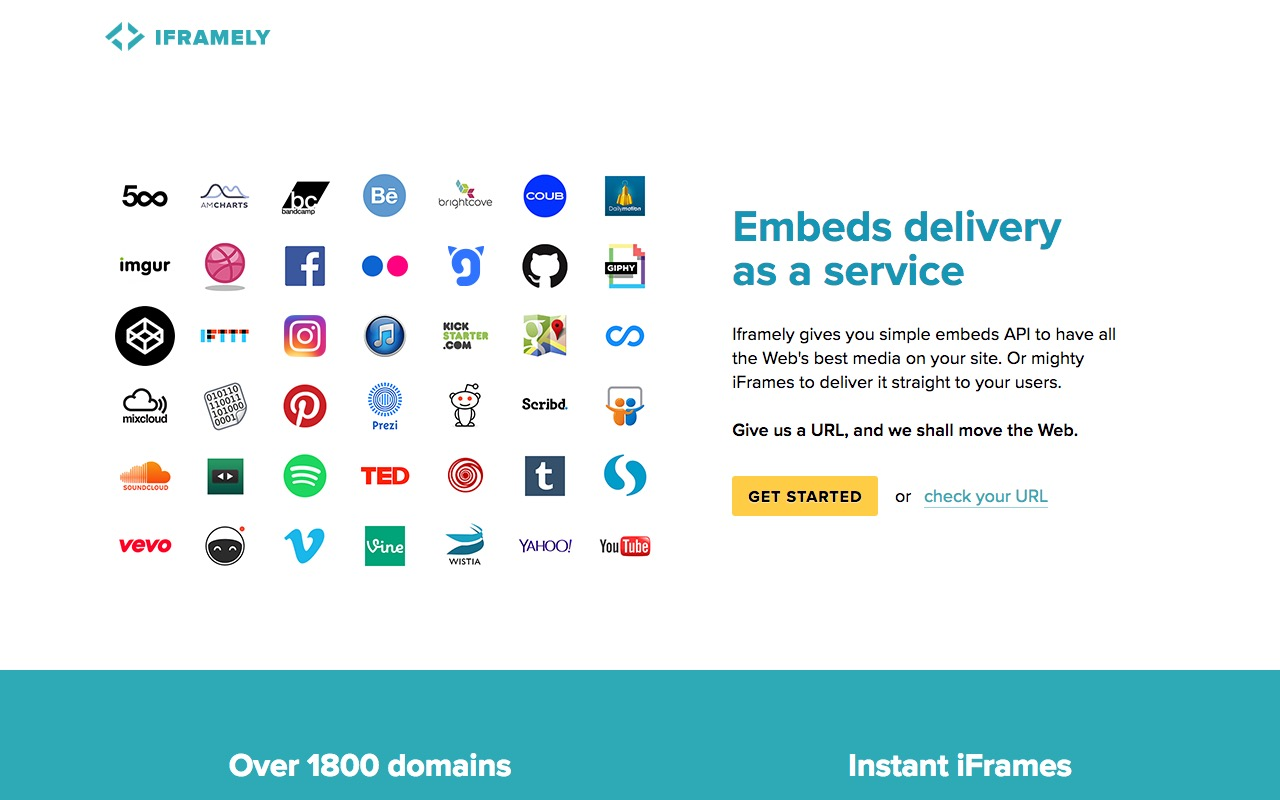 iFramely — serve your own HTTP API for responsive web embeds using Node.js