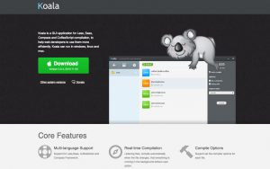 Use a Koala to compile Less, Sass, Compass and CoffeeScript