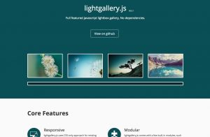 Lightgallery.js … full featured  image & video gallery