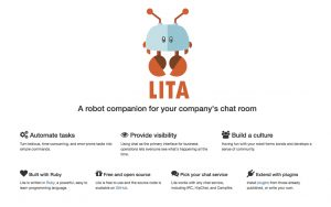 Automation for your companies chat room with LITA