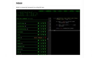 Create your own bot with Nibblr