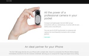 DxO One – external iPhone camera