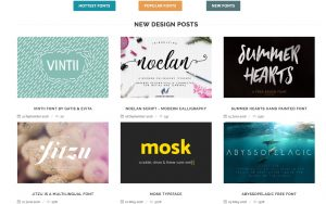 Fontsup – over 100.000 free fonts