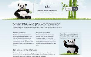 Smart PNG and JPEG compression API – tiny png