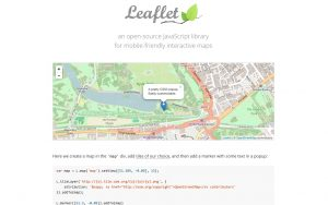 Mobile-friendly interactive maps with Leaflet