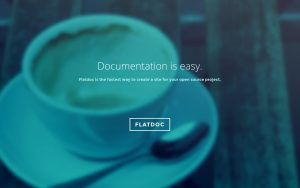 Flatdoc – Markdown to documentation