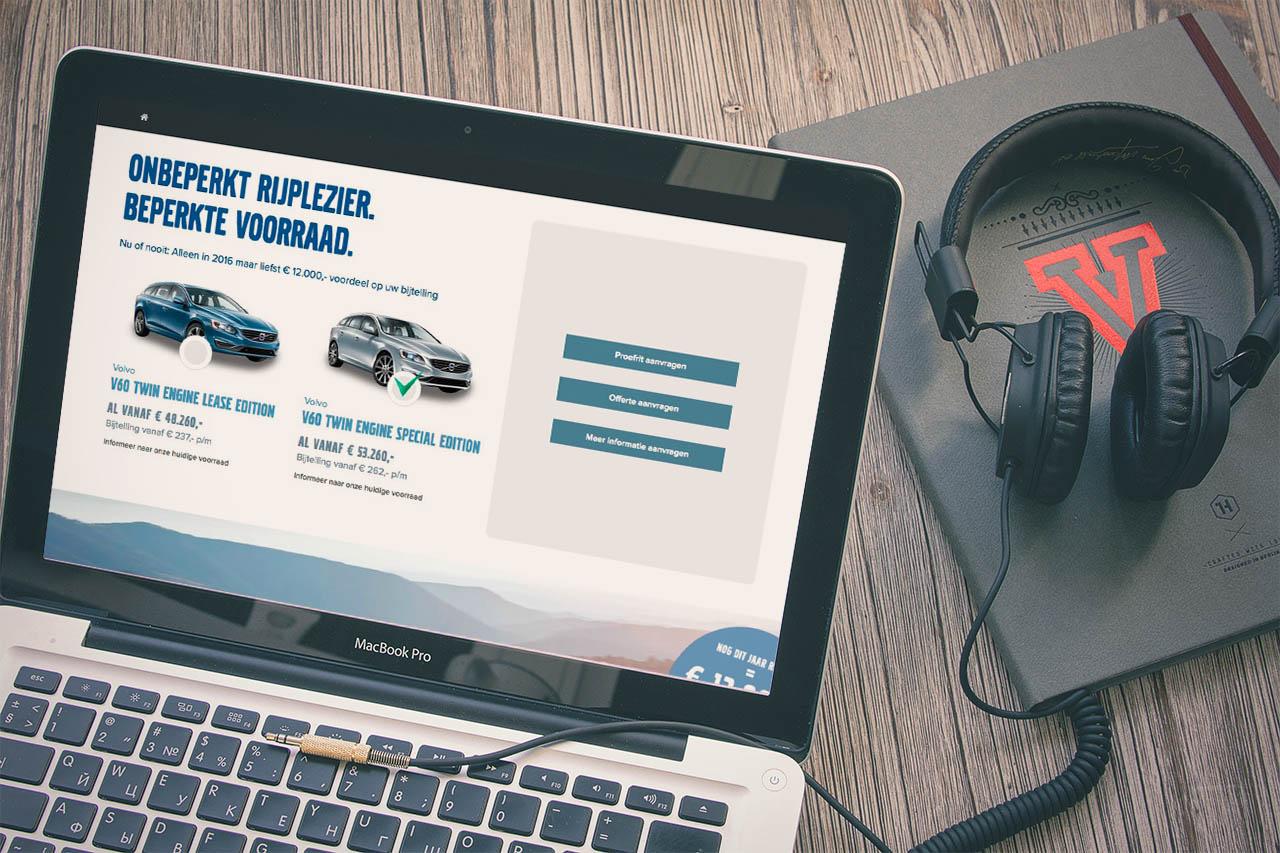 Volvo Retailer – Custom Landing Pages