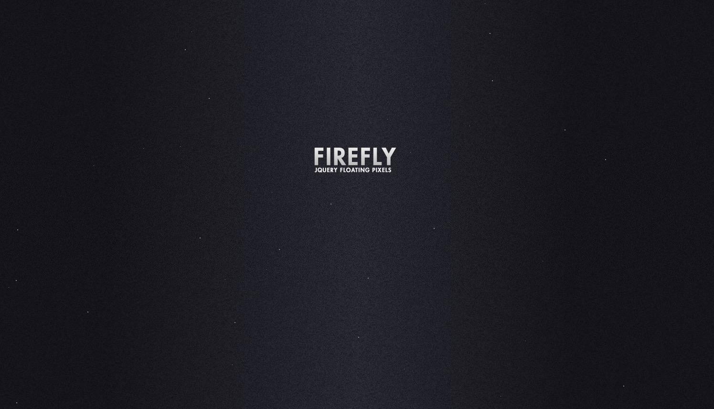 We all love fireflies – jQuery Firefly