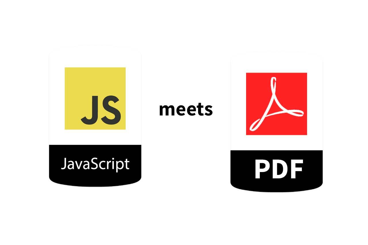 Client-side JavaScript PDF generation with jsPDF