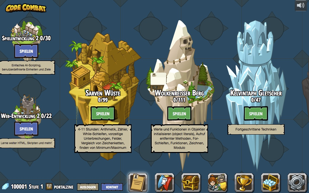 CodeCombat – programming can be as much fun as a game
