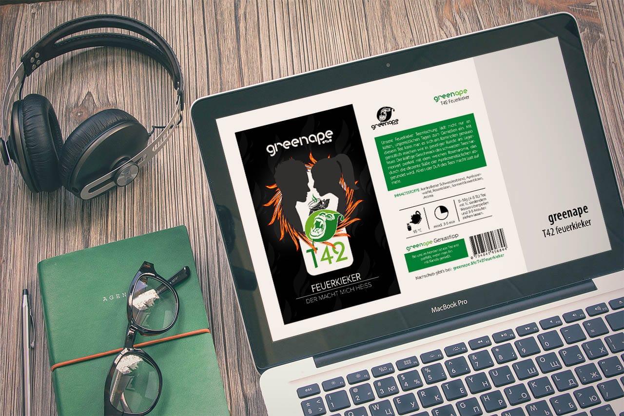GreenApe T42 Feuerkieker – Schwarztee