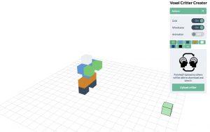 Voxel Builder – Easy cube-based 3D design with DIY 2D/3D printing