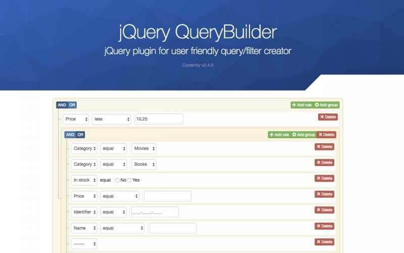 Datasift developer site | the query builder.