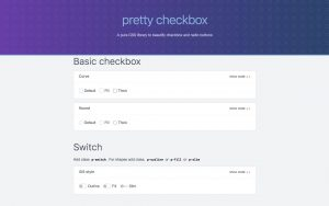 Pretty checkboxes and radio buttons in pure CSS