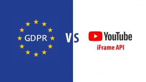 Youtube iFrame API and Cookieless Domain solution (GDPR / DSGVO)
