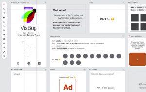 VisBug – Hover inspect in the browser