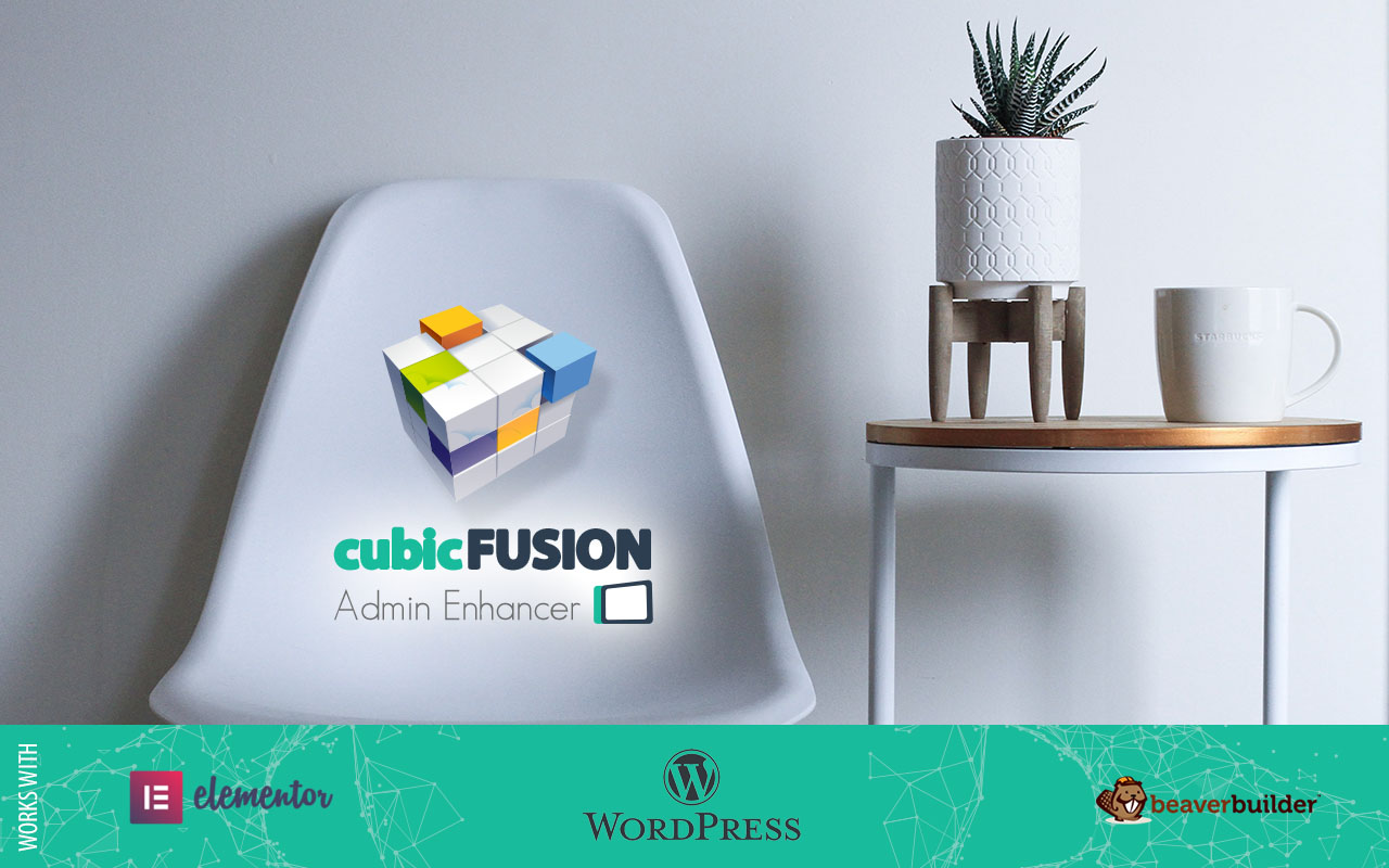 White Label Dashboards with cubicFUSION Admin Enhancer for WordPress!