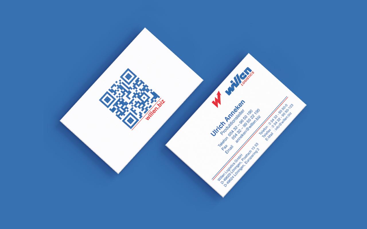 Willen Logistics | Business Cards