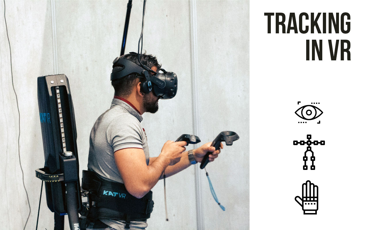 Tracking your body in VR